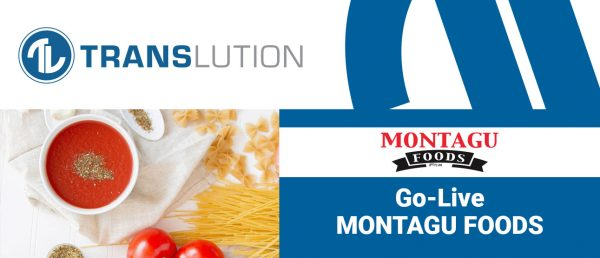 Montagu Foods uses TransLution™ to trace stock through jobs